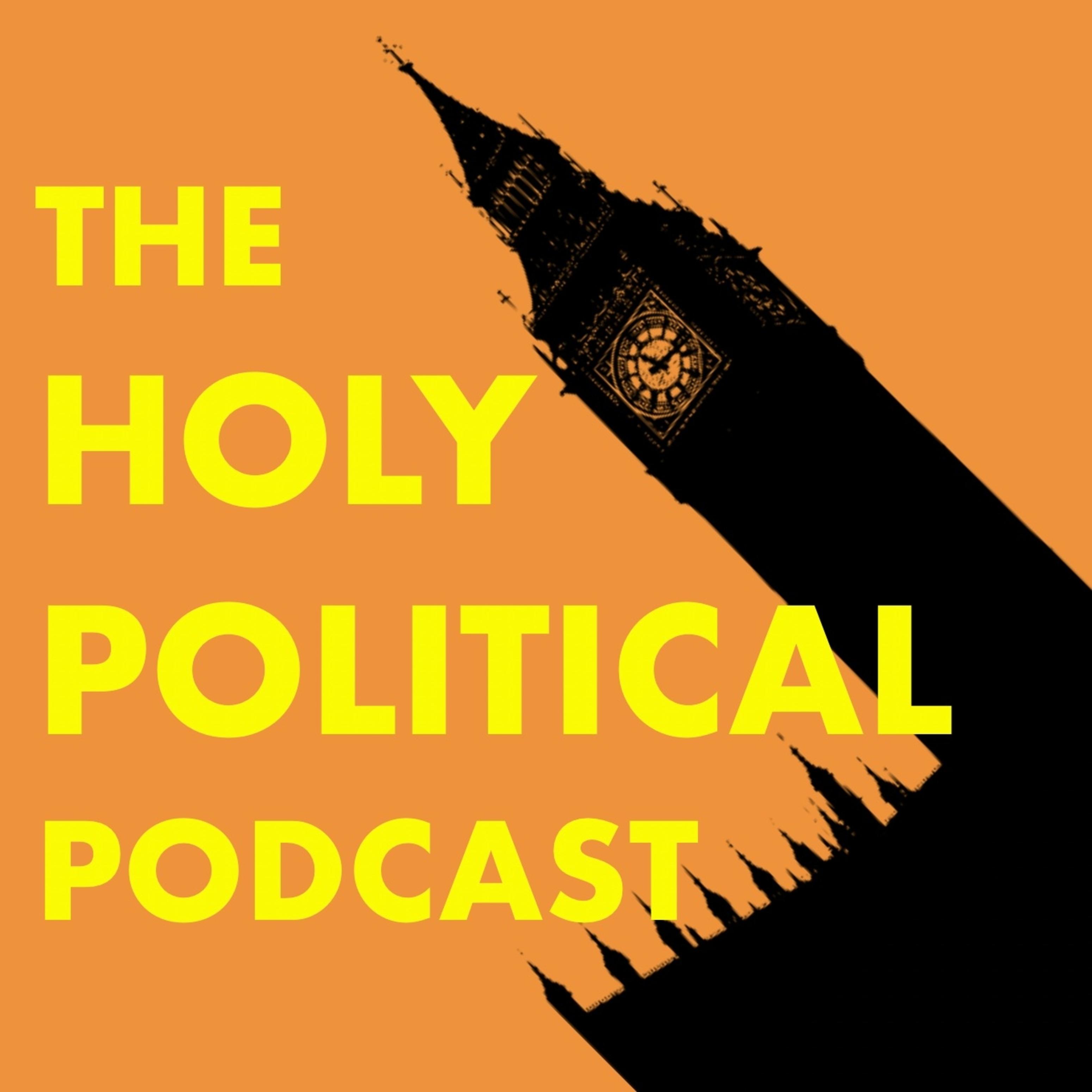 The Holy Political Podcast logo
