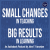 Small Changes, Big Results by John Fanselow - Ep 8: Chapter 8, Section 2 show art