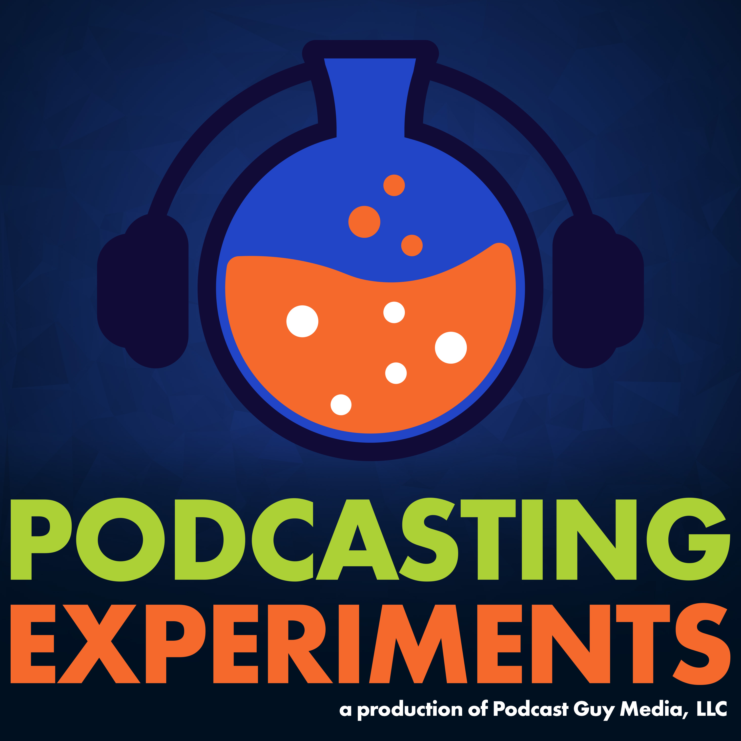Podcasting Experiments show art