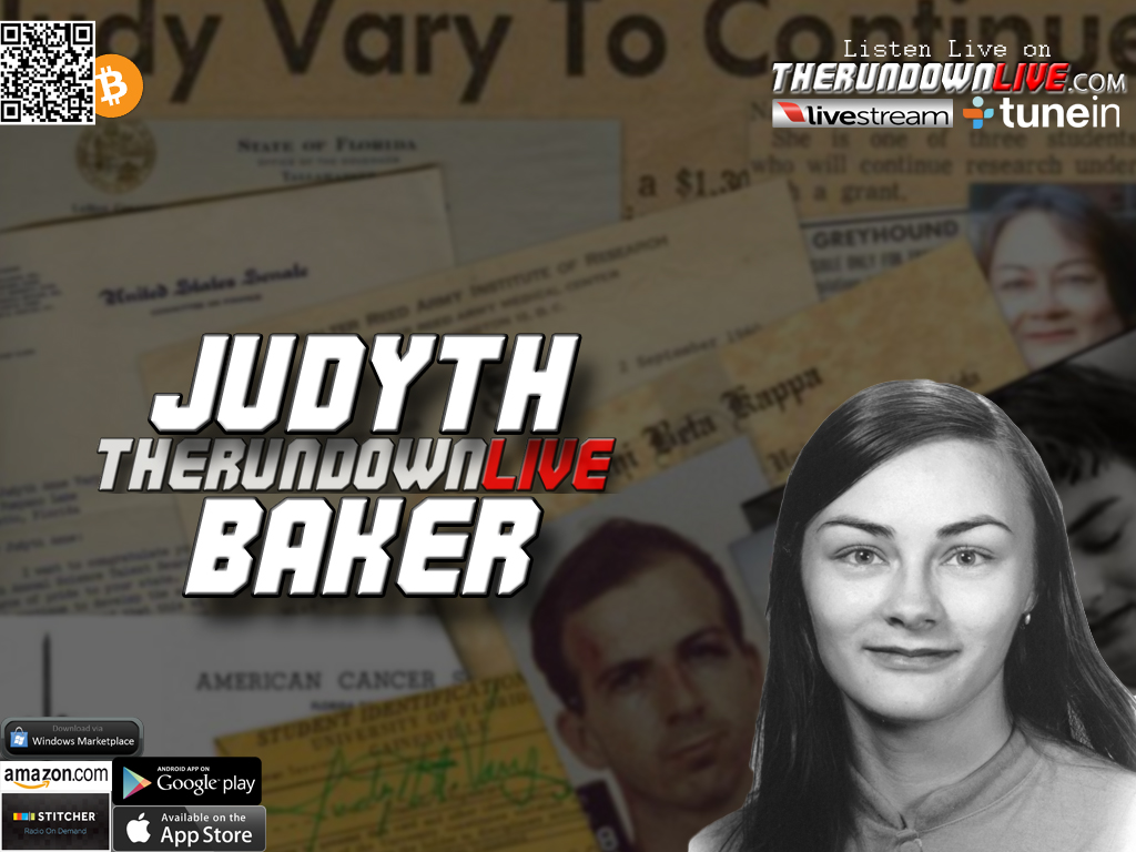 The Rundown Live #363 Judyth Baker (Cancer,David Ferrie, Oswald,World Government)