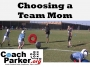 Artwork for Choosing a Team Mom in Youth Football / Sports