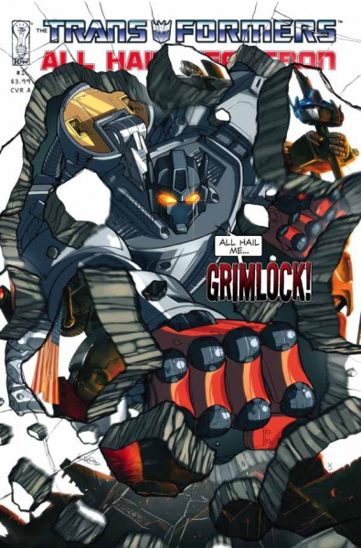 Iaconic Reviews Transformers Maximum Dinobots #1