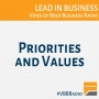 Artwork for Program 168 - Priorities and Values - Live