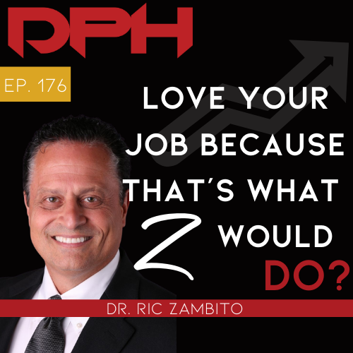 LOVE YOUR JOB Because that's what Z would do with Ric Zambito