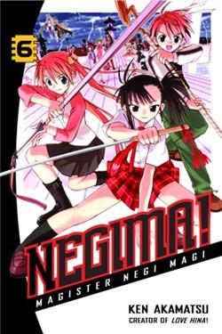 Manga Review: Negima! Volume 6