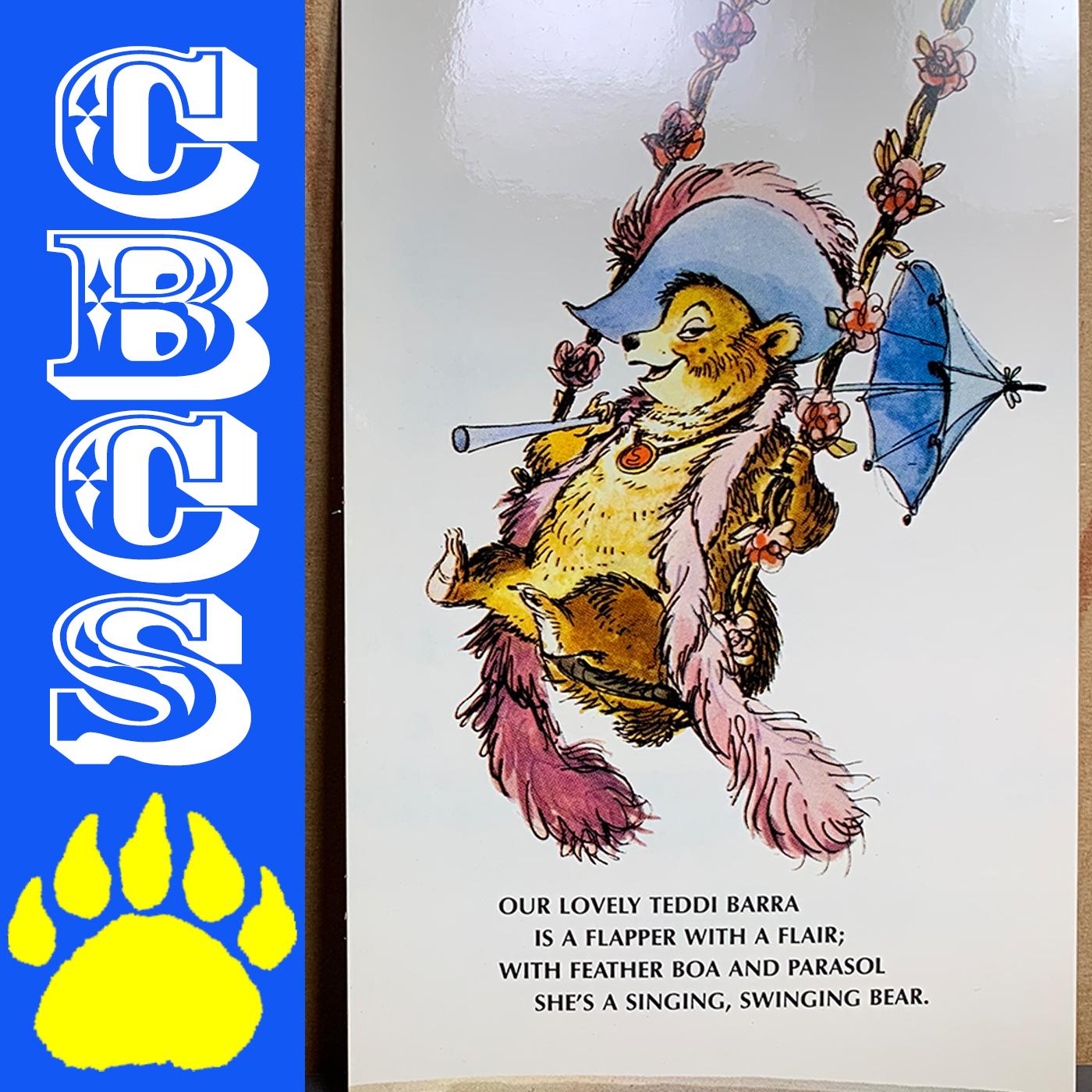 Artwork for Vintage Walt Disney World Teddi Barra Postcard Marc Davis - Country Bear Collector Show #212