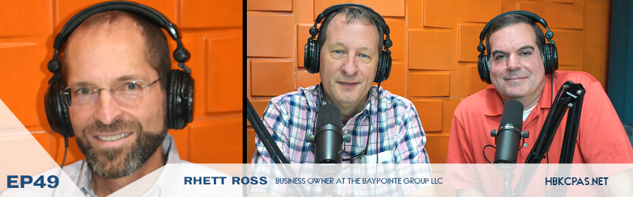 Rhett Ross on Playing Above The Line Podcast