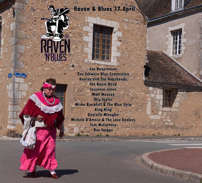 Raven and Blues 17 Apr 2015