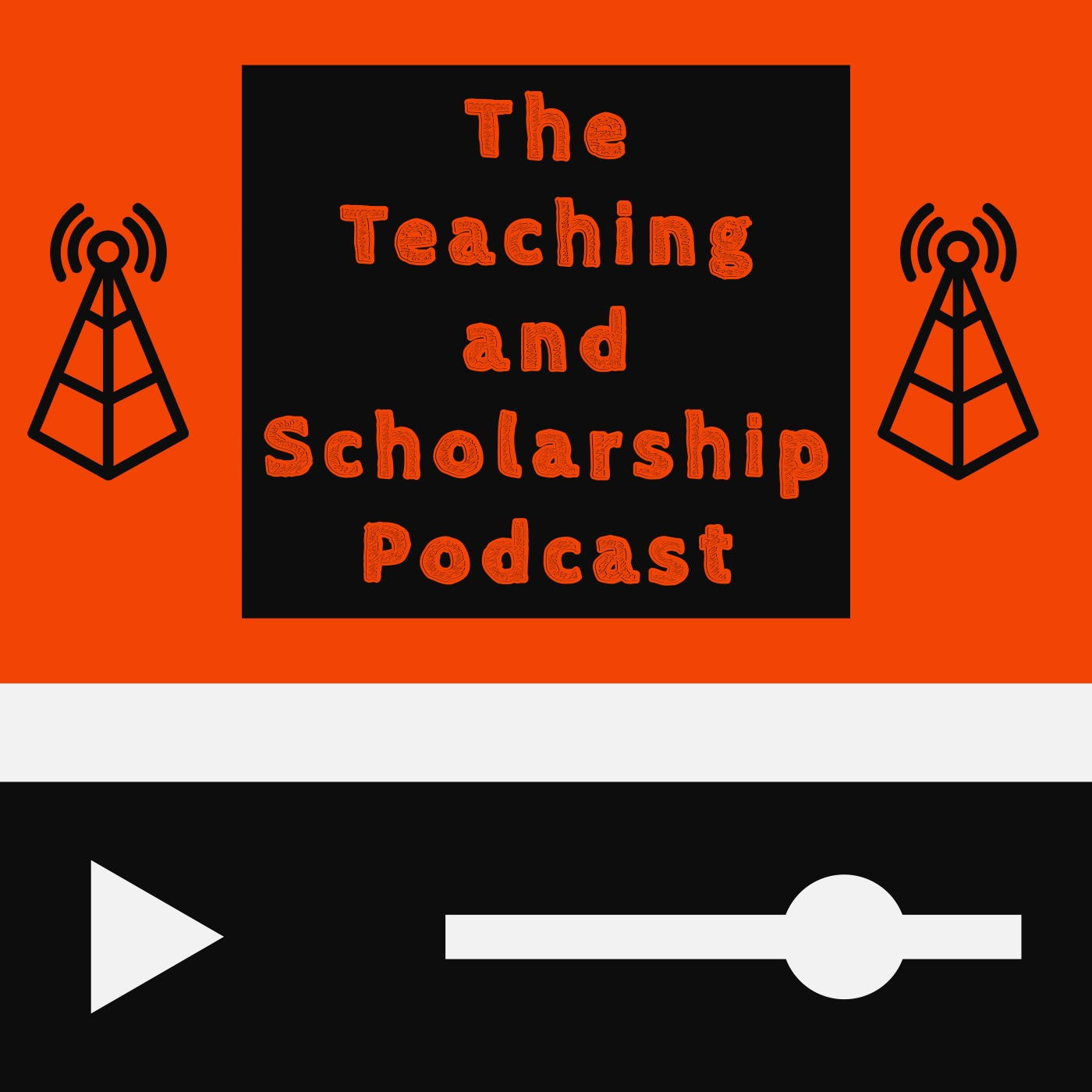 The Teaching and Scholarship Podcast show art
