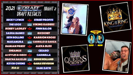Breakfast Soup RAW (w/ Don Tony and Mish) 10/04/2021: WWE Draft Night 2 (w/Supplemental) Raw 10/4/21 Review; King Of The Ring + Queens Crown Tournament Details show art
