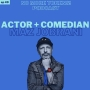 Artwork for Actor + Comedian Maz Jobrani!