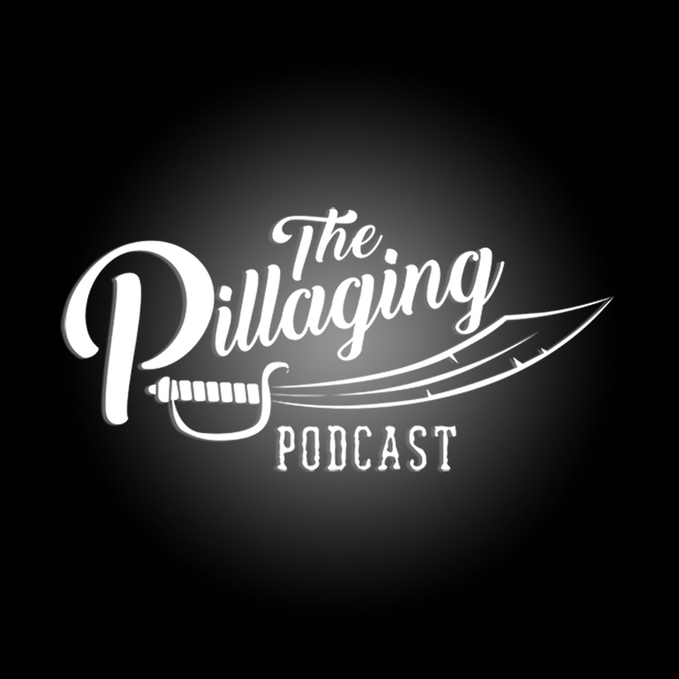 The Pillaging Podcast show art