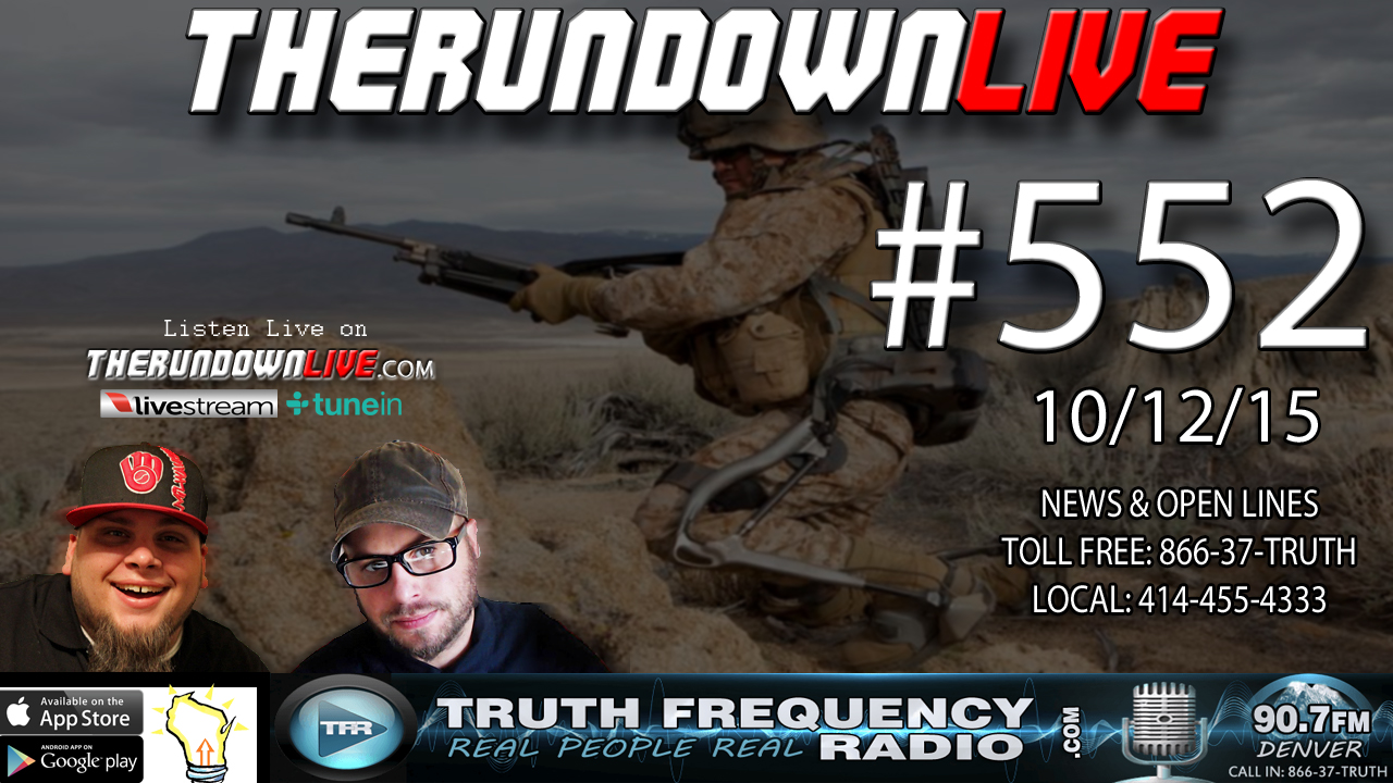 The Rundown Live #552 (Drones,MARS,Thinking Out Loud,EPA)