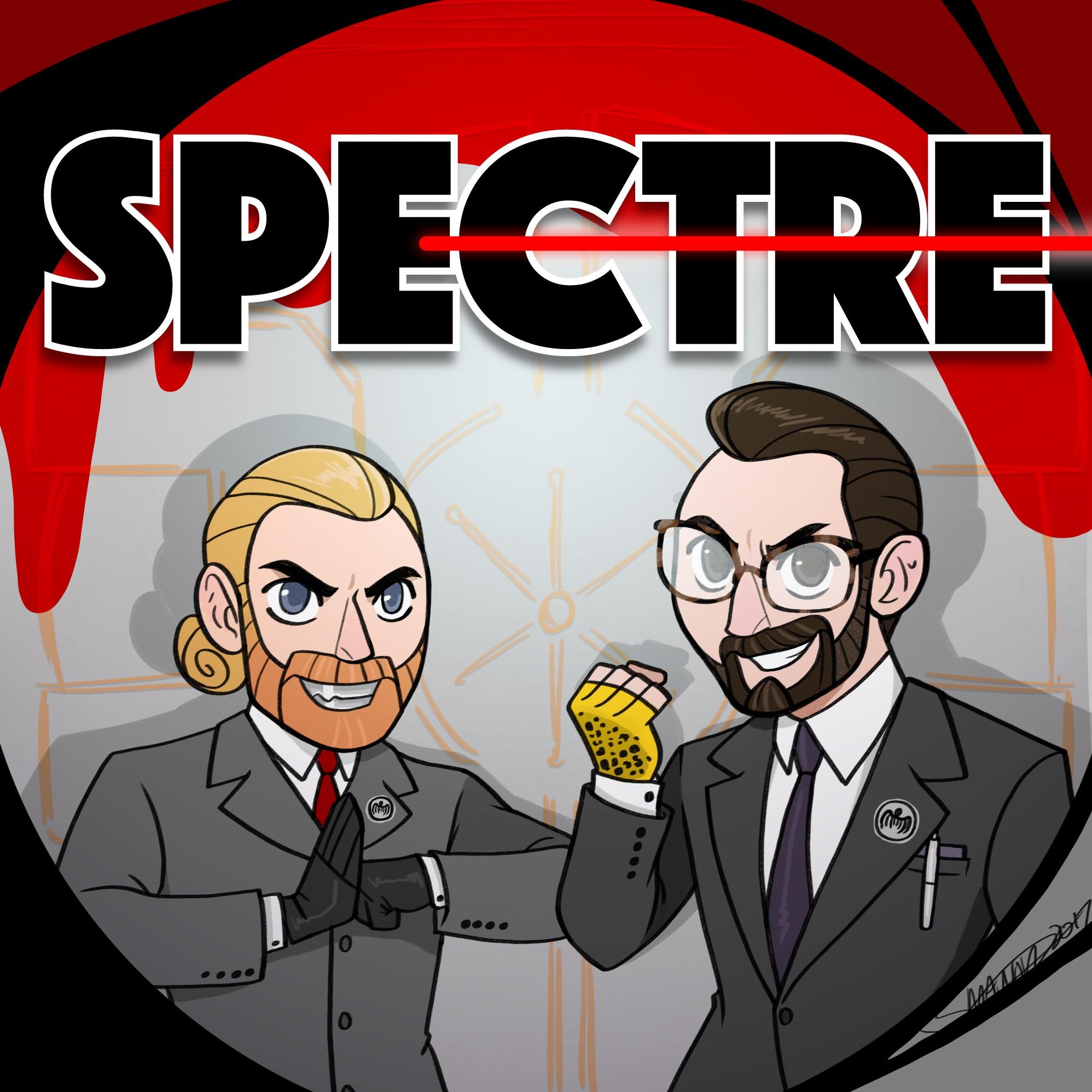 SPECTRE show art