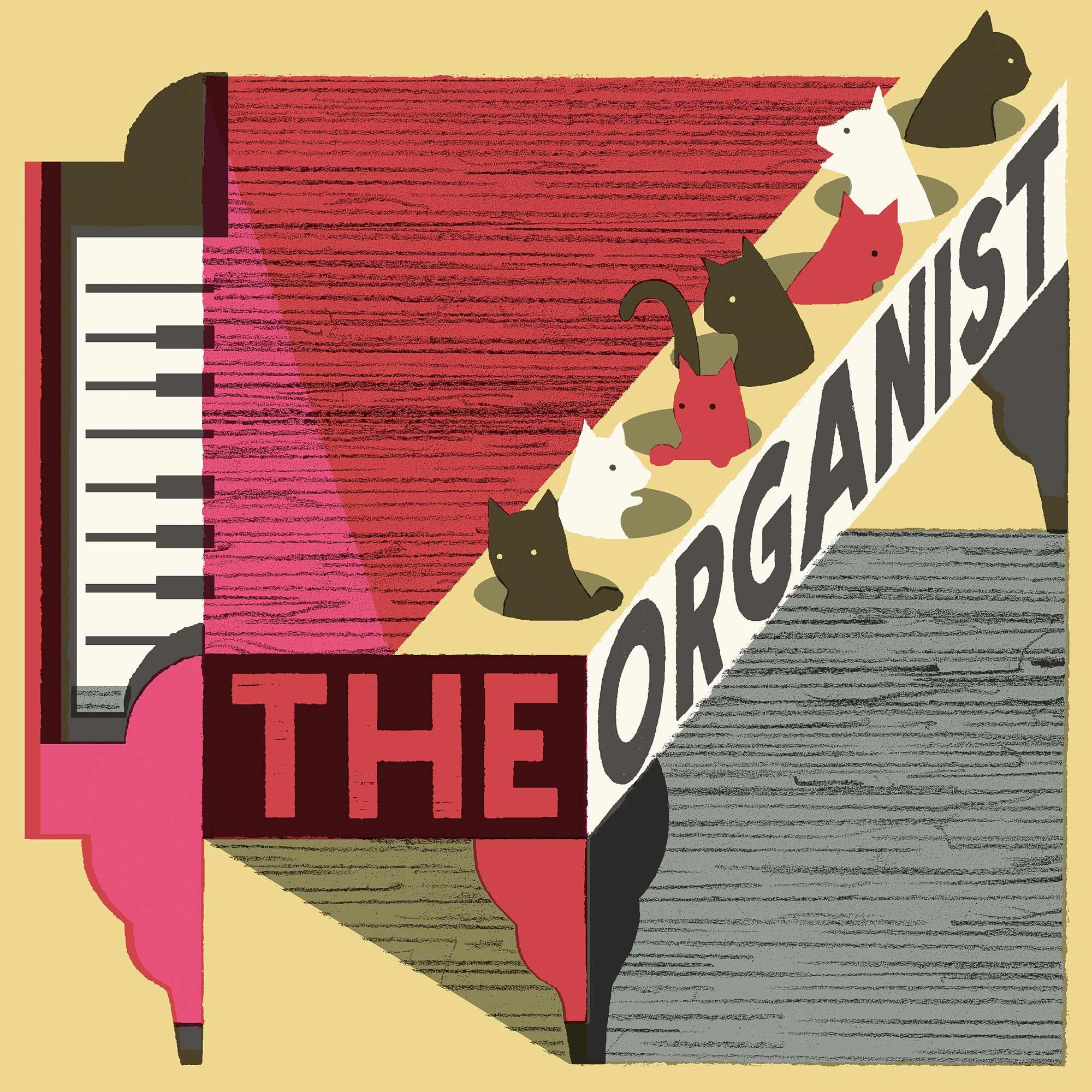 The Organist show art