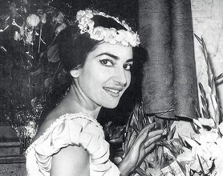 Maria Callas in La Sonnambula