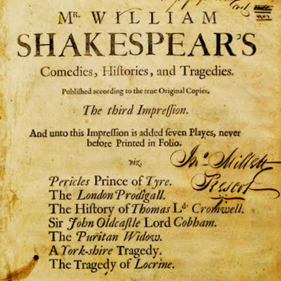 The Apocryphal William Shakespeare: Episode 4 with Sabrina Feldman