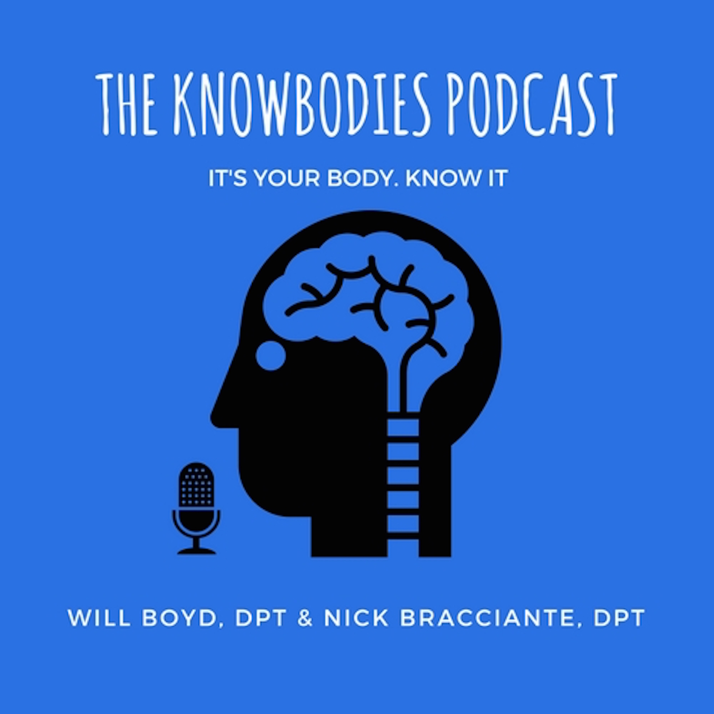 The Knowbodies Podcast show art