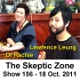 Artwork for The Skeptic Zone #156 - 15.Oct.2011
