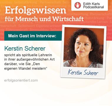 Artwork for Im Gespräch mit Kerstin Scherer