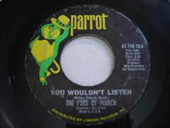 Time Warp Song of The Day, Friday 1-25-13