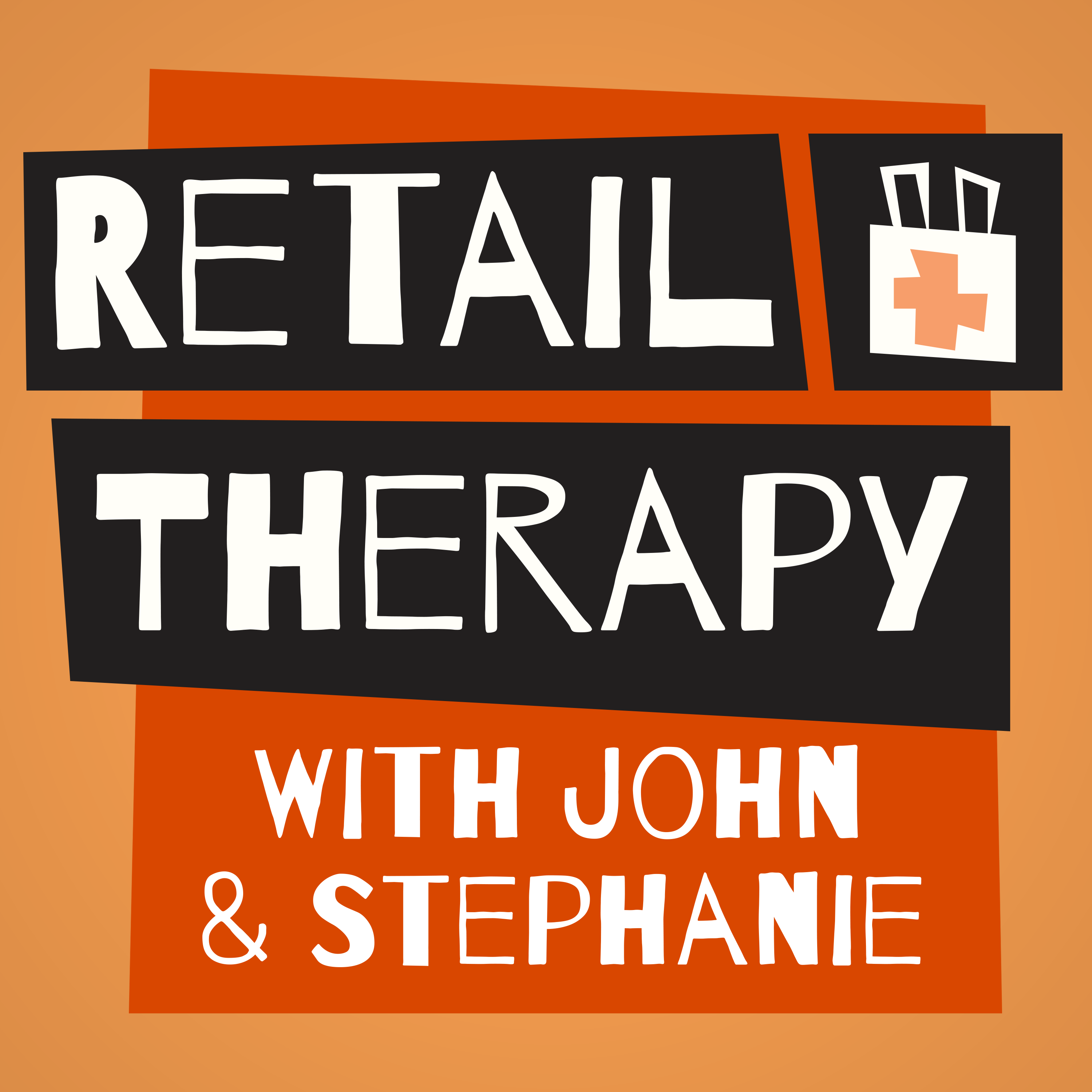 Retail Therapy Podcast show art