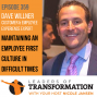 Artwork for 359: Dave Willner: Maintaining an Employee First Culture in Difficult Times