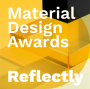 Artwork for Reflectly - 2019 Material Design Awards