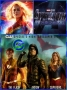 Artwork for Ep #40: CAPTAIN MARVEL trailer, the AVENGERS: ENDGAME trailer, and the ARROWVERSE crossover event, ELSEWORLDS!