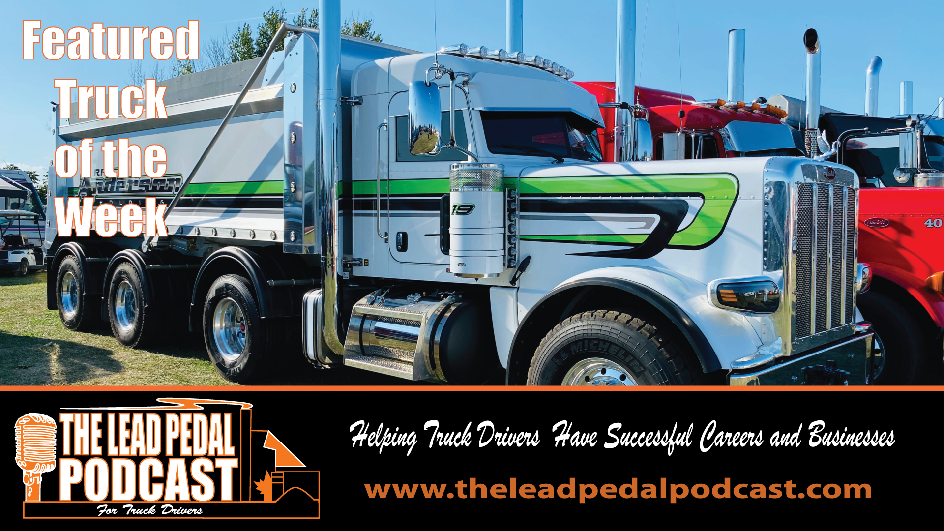 LP588 Featured Truck of the Week - 2021 Custom Peterbilt