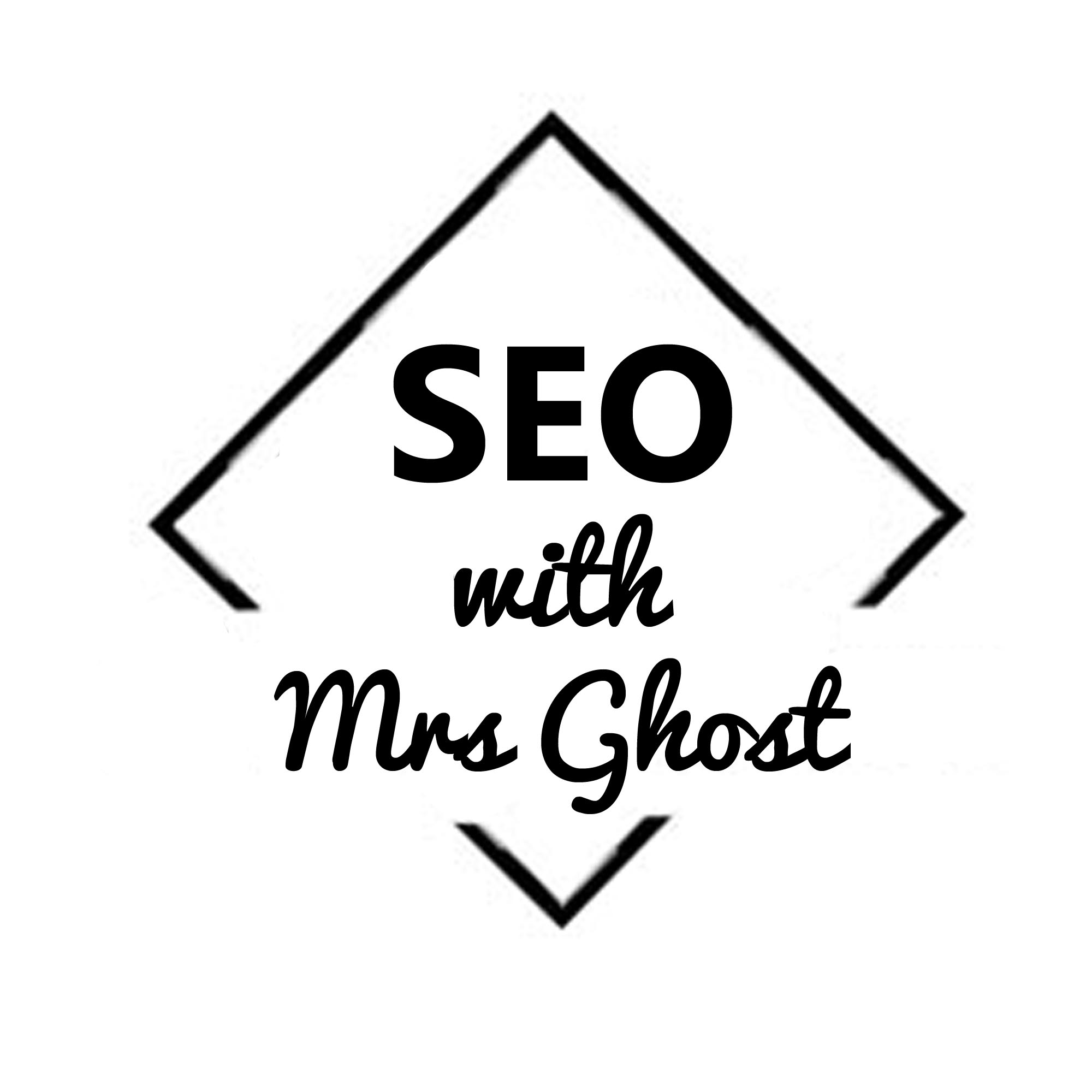 SEO with Mrs Ghost show art