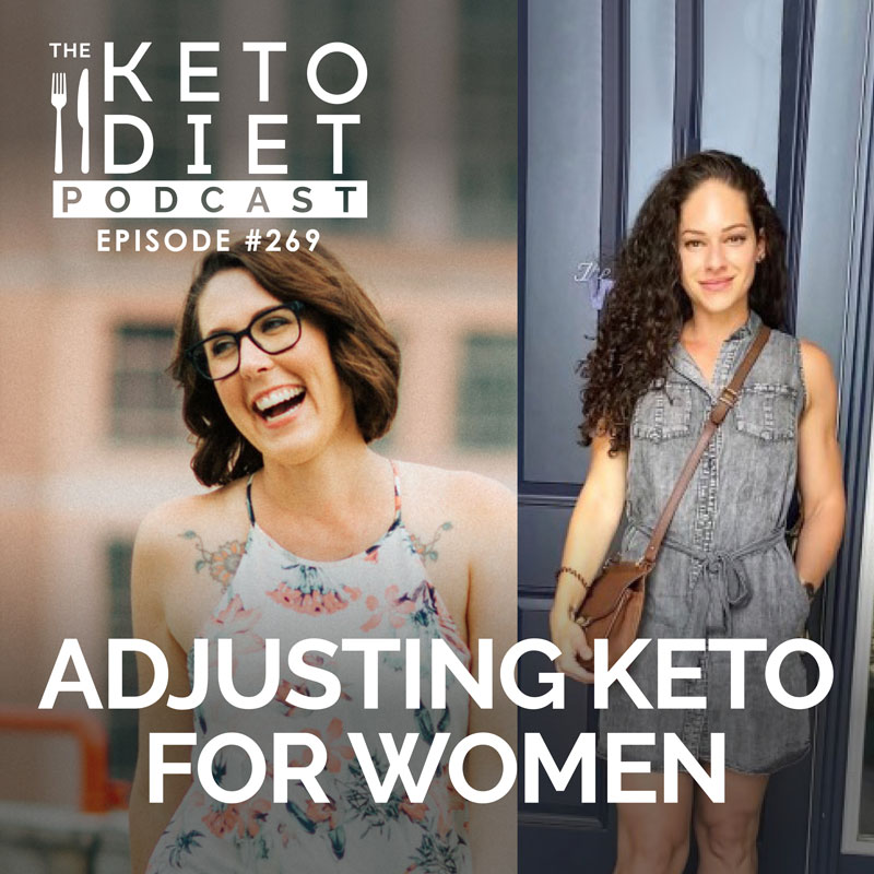 #269 How Keto Is Different for Women with Maura Vega