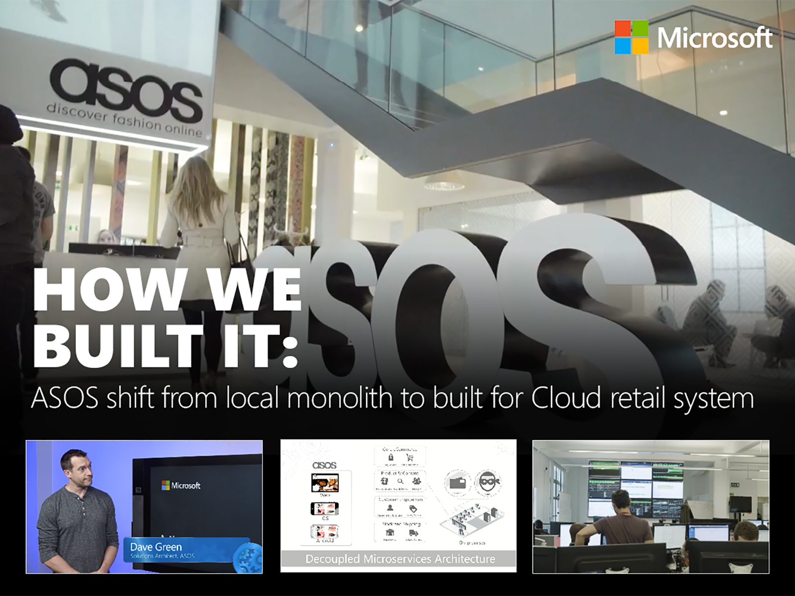 Artwork for How we built it: The ASOS architecture story