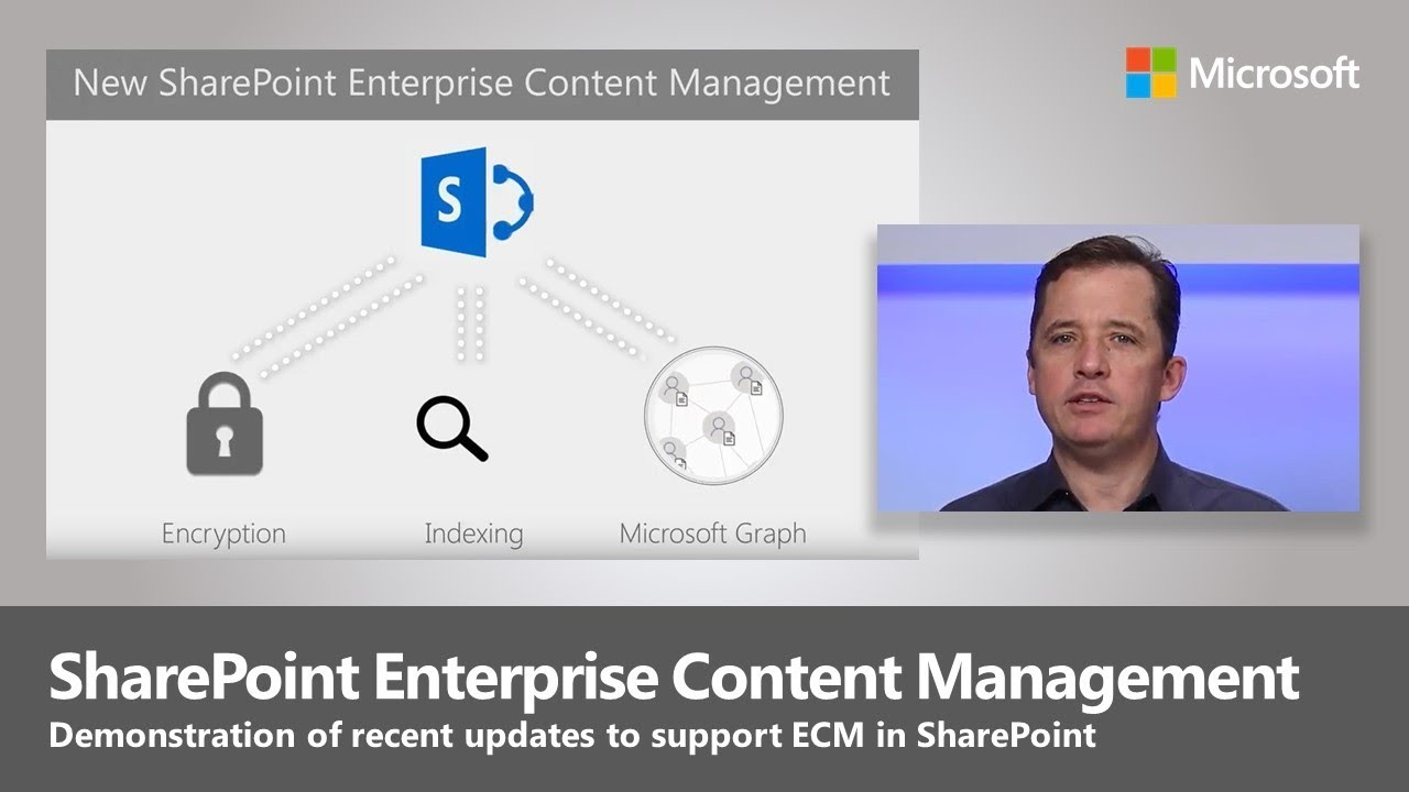Artwork for Early Look: Enterprise Content Management updates in SharePoint