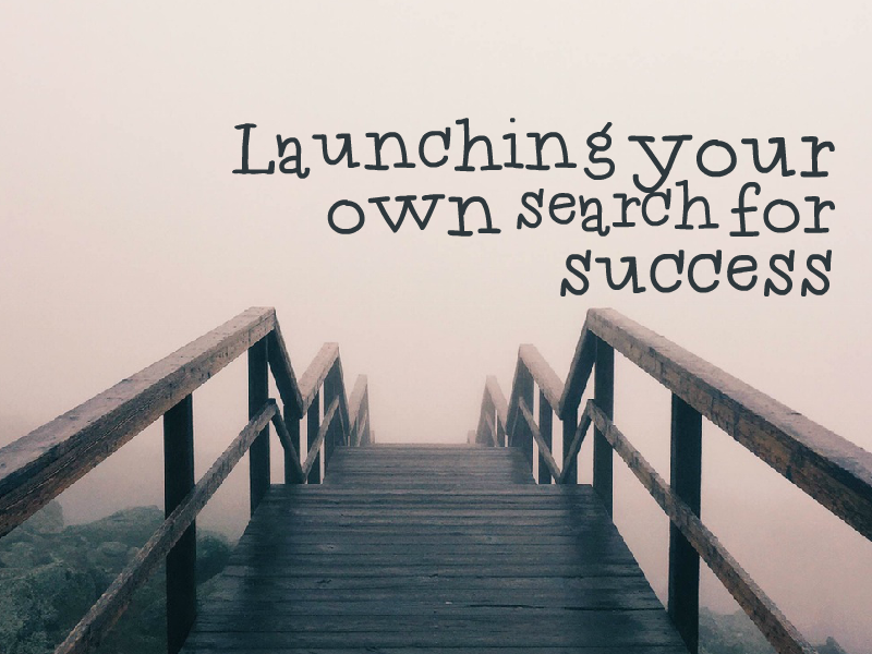 """Launching Your Personal Search for Success"" with Richard Shell"