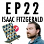 """Artwork for 22: Isaac Fitzgerald & """"Infinite Home"""""""