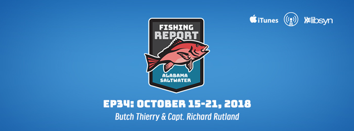 Alabama Saltwater Fishing Report | Ep34 | Oct 15-21