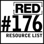 Artwork for RED 176: Resource List For Authors, Bloggers, And Podcasters