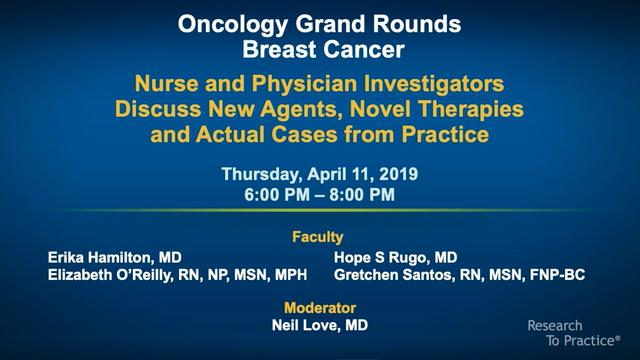 Artwork for Oncology Grand Rounds Series: Part 5 — Breast Cancer
