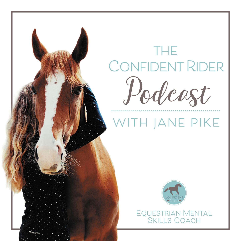 The Confident Rider Podcast show art