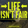 Artwork for Life isn't Fair