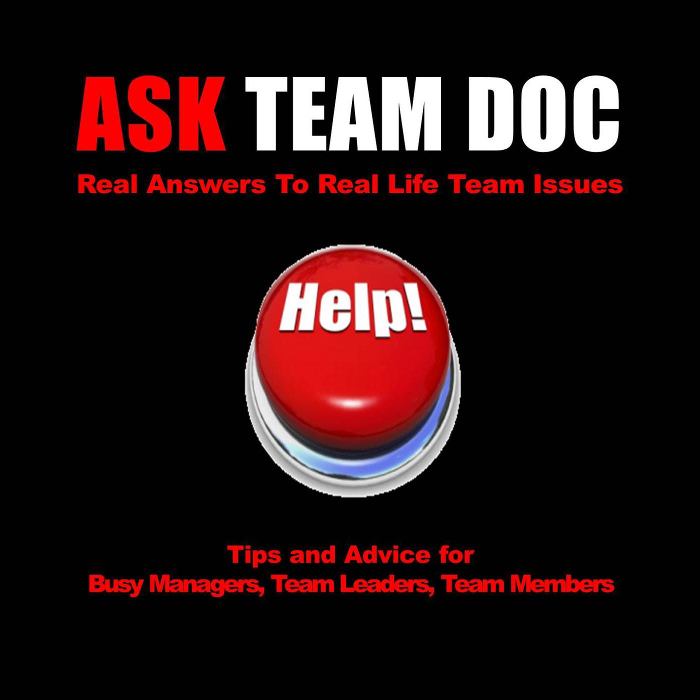 Ask Team Doc Podcast show art