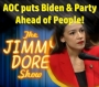 Artwork for AOC Puts Biden & Party Ahead of The People!