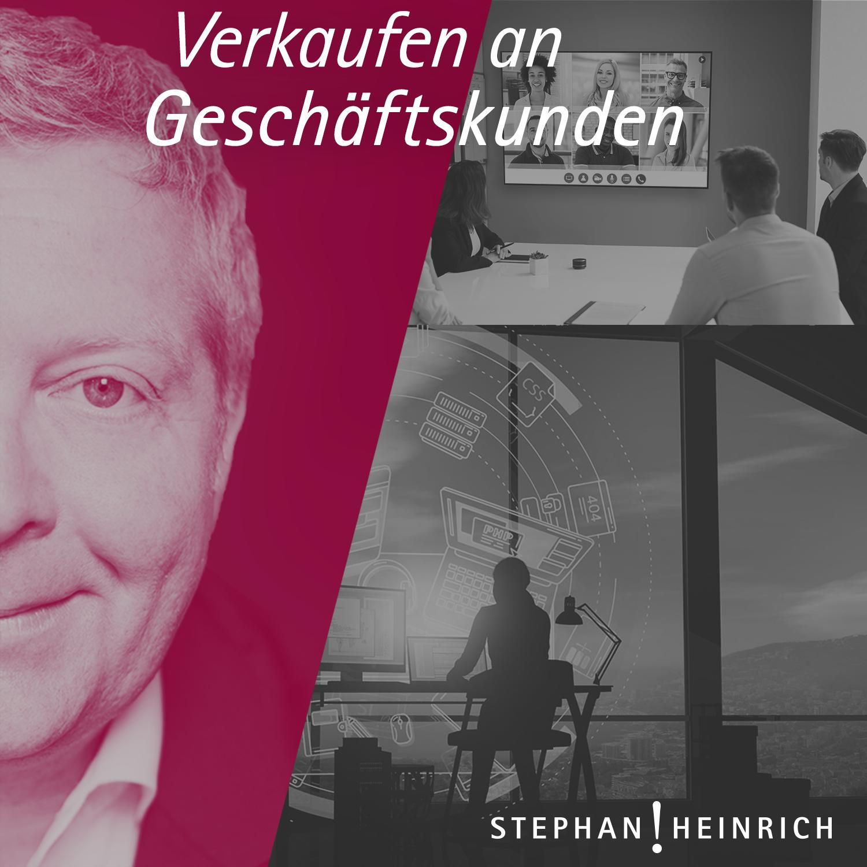 Verkaufen an Geschäftskunden | Vertrieb | Verkauf | Akquise | Sales | Stephan Heinrich show art