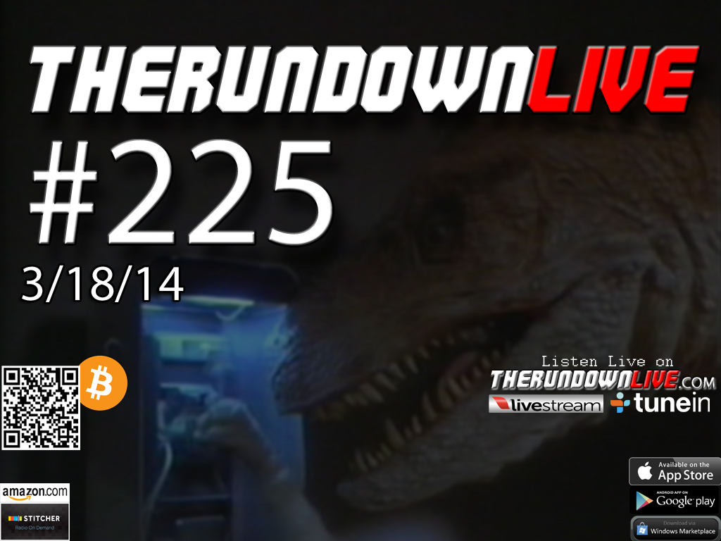 The Rundown Live #225 (Chimaeras, History, PCP Water, Open Carry)