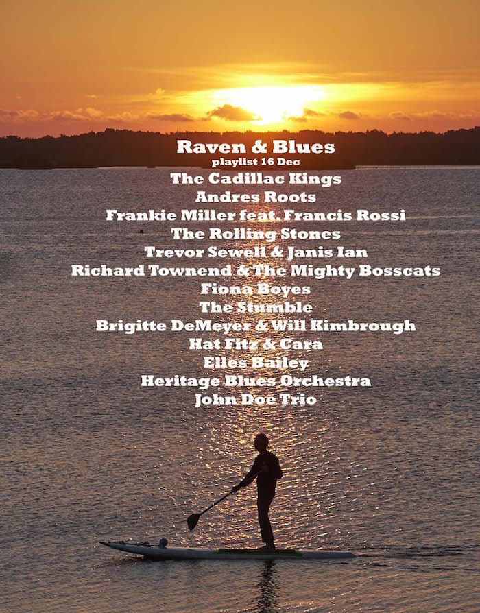 Raven and Blues 16 Dec 2016