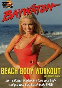 Dr Fitness and the Fat Guy Interview Lauren Jones, Star of Baywatch Beach Body Workout Exercise DVD