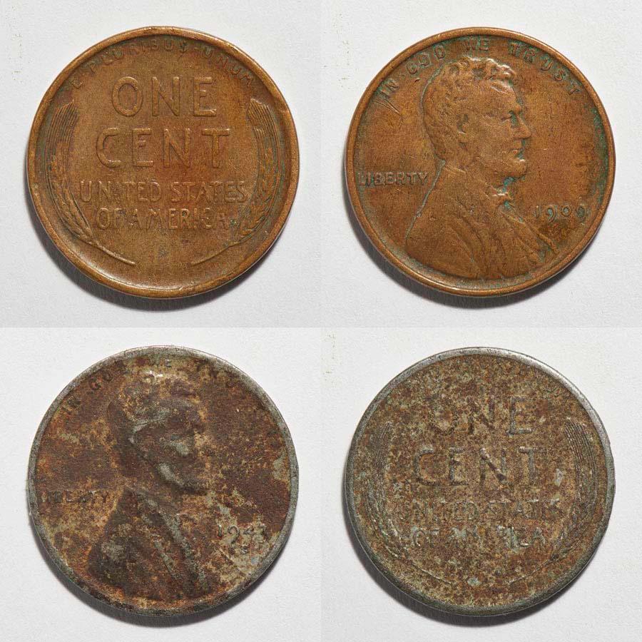 old pennies