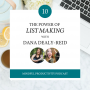 Artwork for 010 | The Power of List Making with Dana Dealy-Reid
