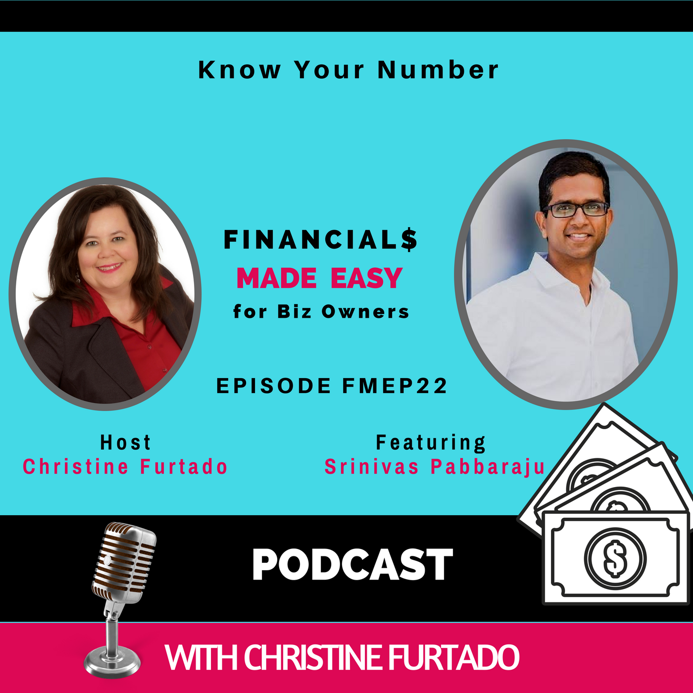 Artwork for FMEP22 - Know Your Number With Sri Pabbaraju